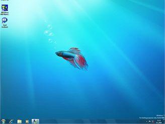 Hlavní plocha Windows 7