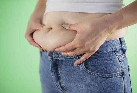 V ohrožení jsou zejména ženy s objemem pasu větším než 86 cm a muži s širším pasem než 102 cm.