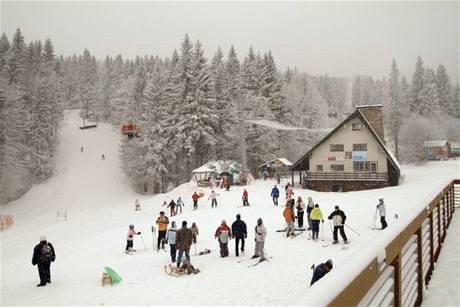 Zimní středisko Říčky v Orlických horách