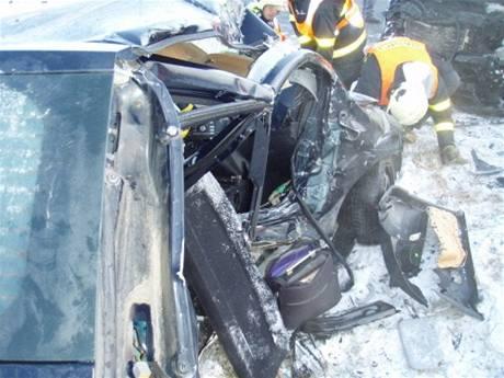 Tragická nehoda v Krnově na Buntálsku (7.1.2009)