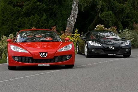 Dvojčata Peugeot RC Carreau a Pique
