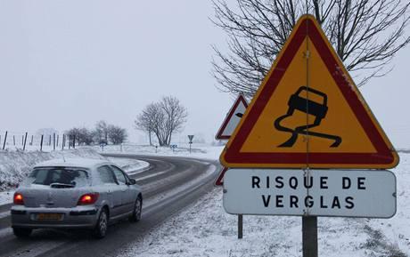 Mrazy a sníh zasáhly Francii