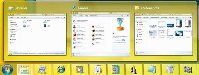 Taskbar - Windows 7