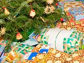 K Vánocům patří nejen ozdobený stromek, ale i hodně dárků.