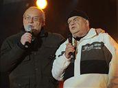 Jan a František Nedvědovi opět na jednom pódiu