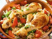 Kuře se zeleninovou rýží