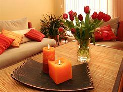 Květiny mají v bytě nezastupitelnou roli