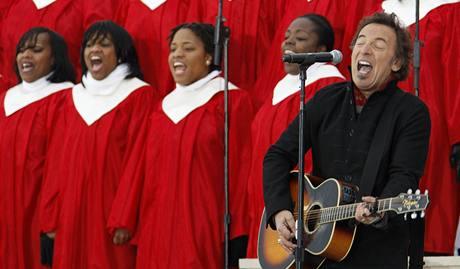 Inaugurační koncert We Are One - Bruce Springsteen