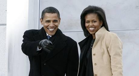 Inaugurační koncert We Are One - prezident Barack Obama s manželkou Michelle