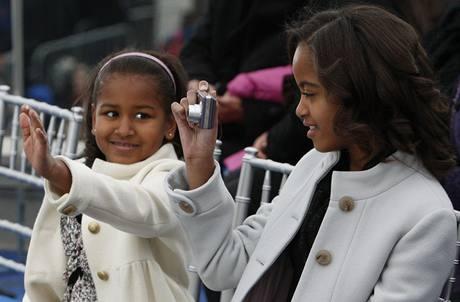 Inaugurační koncert We Are One - dcery Barack Obamy Malia a Sasha