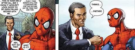 ze zvláštního vydání komiksu Spiderman