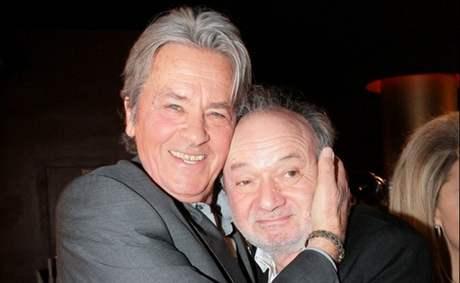 Claude Berri s hercem Alainem Delonem