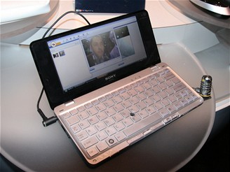 Lifestyle notebook Sony Vaio - VGN-P500