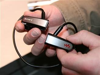 CES 2009 - Sony MP3 walkman NWZ-W202
