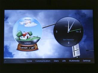 CES 2009 - digitální domácí centrum iriver Wawe home