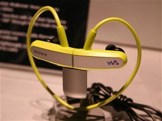 CES 2009 - MP3 přehrávač Sony NWZ-W202