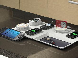 Kuchyňská linka s Powermat nabíječkou