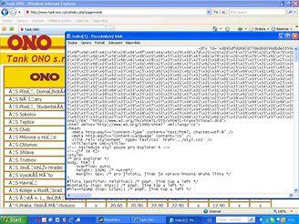 Web společnosti Tank-Ono napaden trojanem