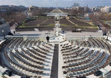 Washington se připravuje na inauguraci Baracka Obamy