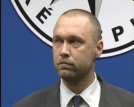 Nový šéf Národní protidrogové centrály Jakub Frydrych