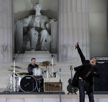 Inaugurační koncert We Are One - U2 v čele s Bonem
