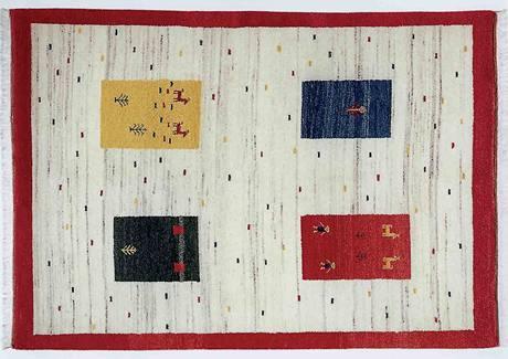 Tyto vzory se objevují na kobercích gabeh už tisíce let