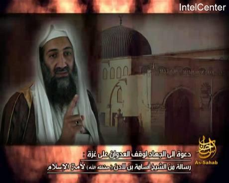 Nejnovější nahrávka Usámy bin Ládina se objevila na internetové stránce islamistů As-Saháb.