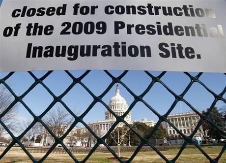 Ulice Washingtonu se při inauguraci změní v nedobytné pevnosti.