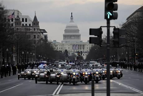 Zkouška na Obamovu inauguraci.