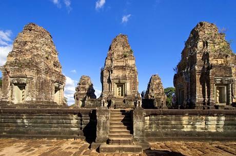 Kambodža, Angor wat