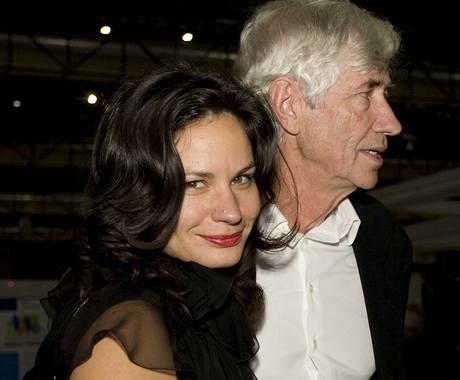 Jan Kaplický s man�elkou Eli�kou