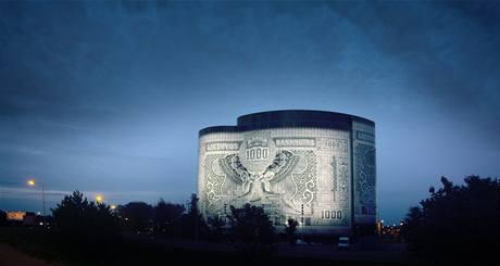 Bankovka aneb kancelářská budova v litevském Kaunasu