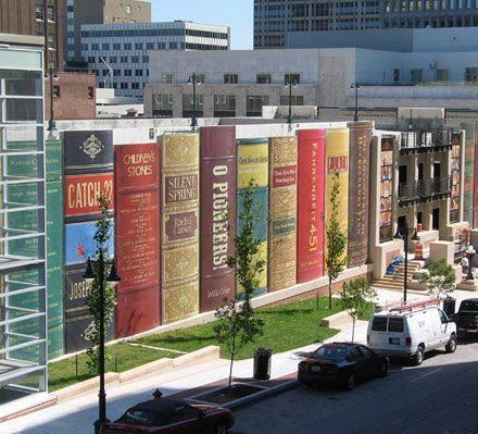 Knihovna v Kansas City opravdu vypadá jako knihovna