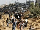 Pásmo Gazy (18. leden 2009)