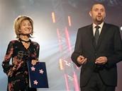 TV Barrandov zahájila vysílání - galavečer moderovala Zuzana Bubílková s Milošem Knorem