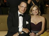 Zlaté glóby 2009 - Los Angeles, Tom Hanks na oficiální party