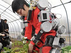 Robot pomůže při shýbání