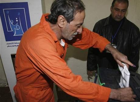 Provinční volby v Iráku. Hlasování ve věznici (28. ledna 2009)