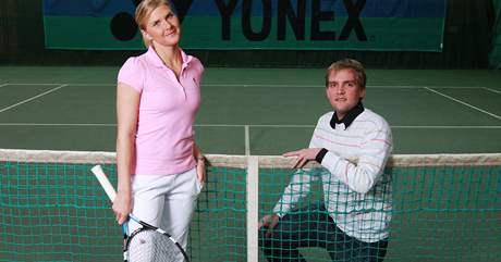 Libor Bou�ek a Jana Hlav��kov�