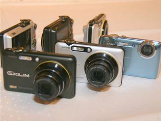 Nové fotoaparáty
