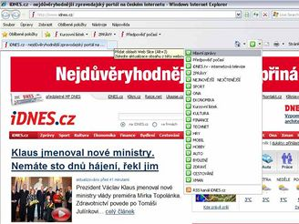 Internet Explorer 8 - Web Slice