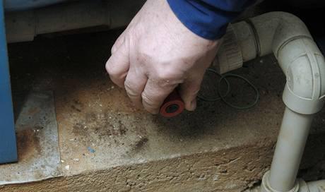 Vod�rny obvykle b�vaj� vybaven� vypou�t�c�m ventilem