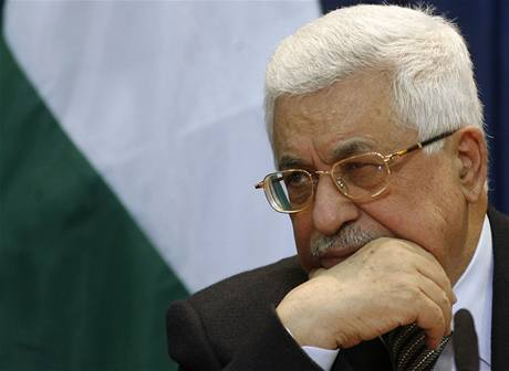 Prezident palestinské autonomie Mahmúd Abbás.