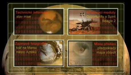 Mars - infografika