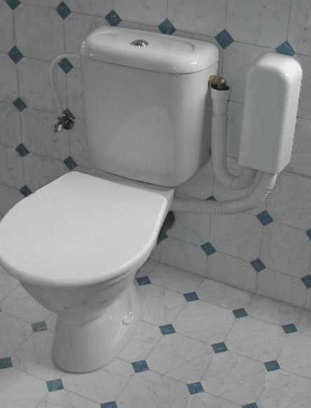 WC-KLIMA je určeno pro všechny typy klozetů – závěsné i kombi, pro stávající klozety i nové stavby - u nich lze zařízení umístit pod obklad