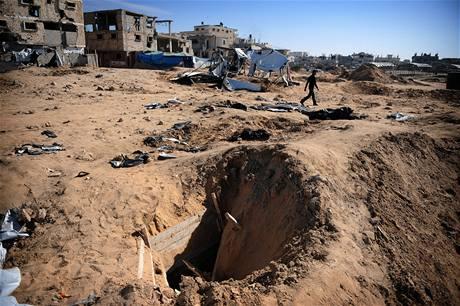 Palestinci se okamžitě pustili do obnovy tunelů.