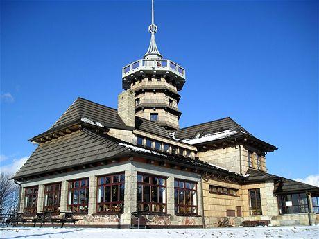Jiráskova chata na Dobrošově