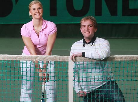 Libor Bou�ek a Jana Hlavá�ková