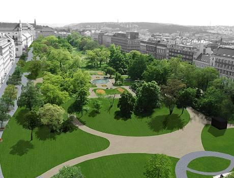 Úprava Karlova náměstí, návrh č. 15