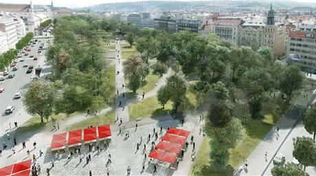 Úprava Karlova náměstí, návrh č. 19